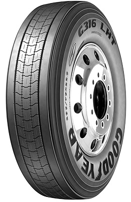 Goodyear G316 LHT DuraSeal + Fuel Max